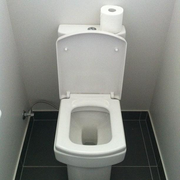 square toilet toilography