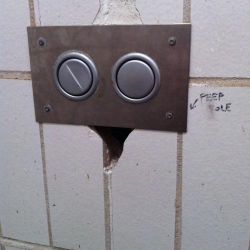 Peep Hole Toilet 1