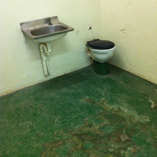 Tropical Prison Cell Toilet