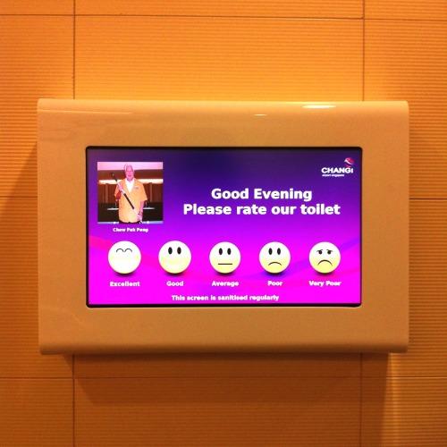 Singapore Toilet Feedback