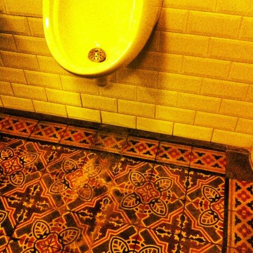Belgian bar in Cammeray toilet