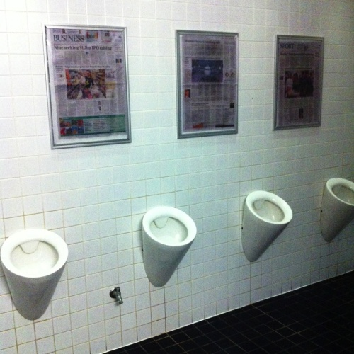 Melbourne Headlines toilet