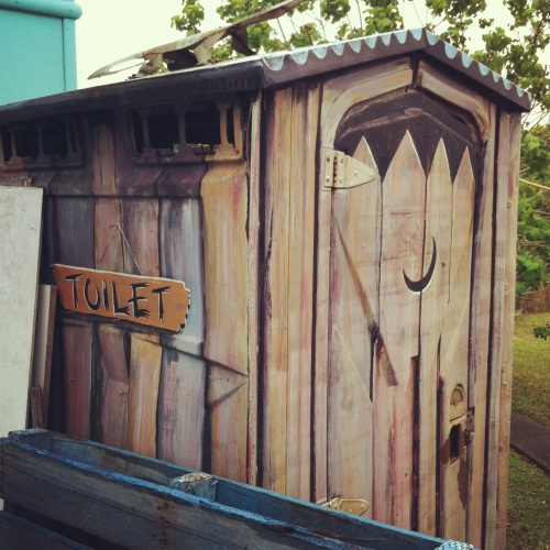 Pie Shop Outhouse
