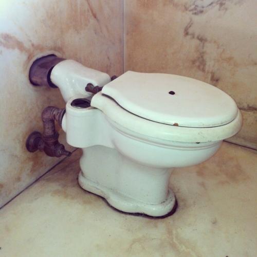 Casa Loma Toilet