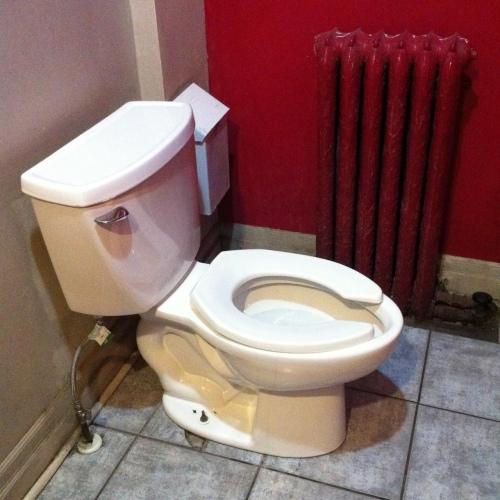 Warm toilet