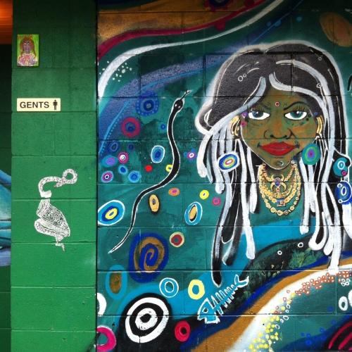Kuranda Market mural