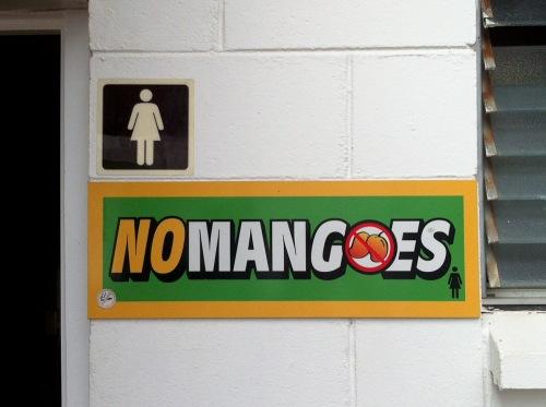 No Mangoes