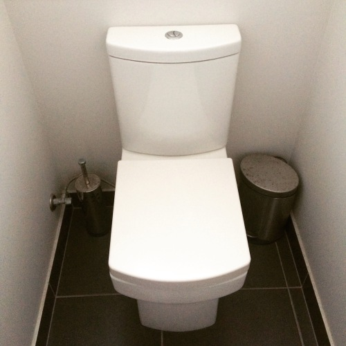 Square Toilet II