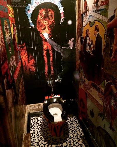 Tiger toilet
