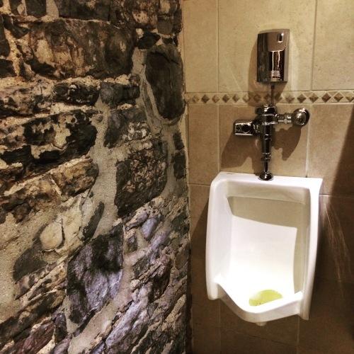 Hotel Nelligan stone wall