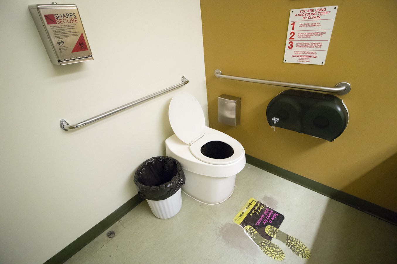 Composting toilet at MEC | Toilography
